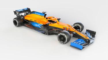 2021 Formula 1 racers – Mclaren