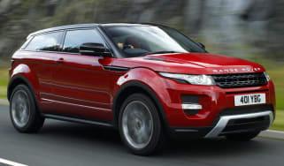 Range Rover Evoque SI4 Coupe video review