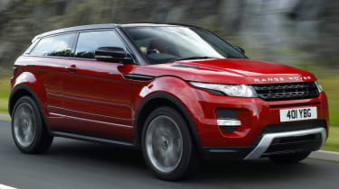 Range Rover Evoque SI4 Coupe video review