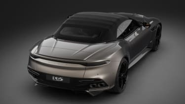 Aston Martin MY22 – DBS rear