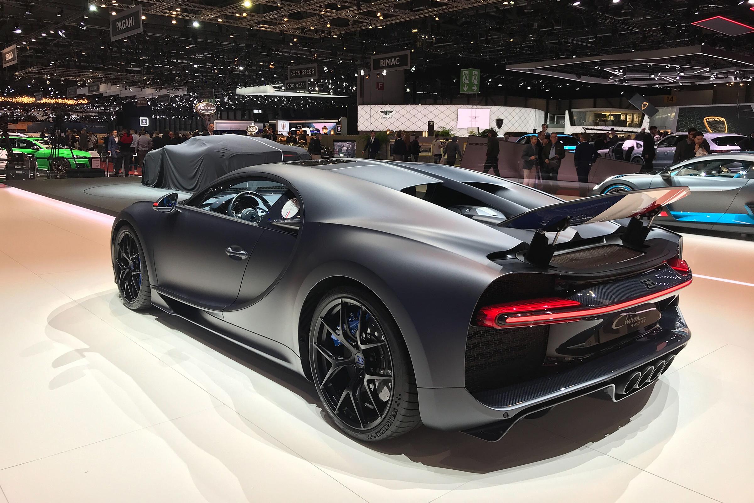 Bugatti Unveils 110th Anniversary Chiron Sport Special Edition At Geneva Evo