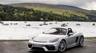 Porsche 718 Boxster Spyder - front static