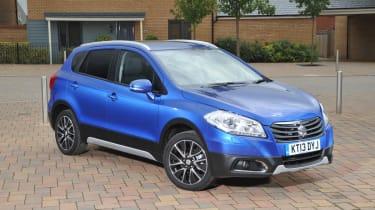Suzuki SX4 S-Cross boost blue front