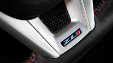 2012 Chevrolet Camaro ZL1 steering wheel