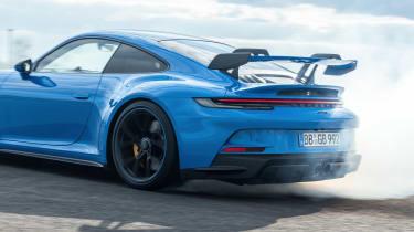 992 Porsche 911 GT3 drift