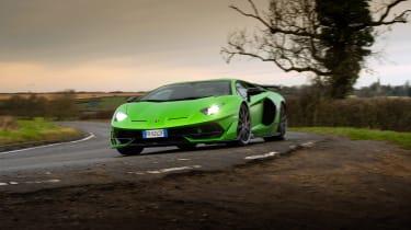 Lamborghini Aventador SVJ – front