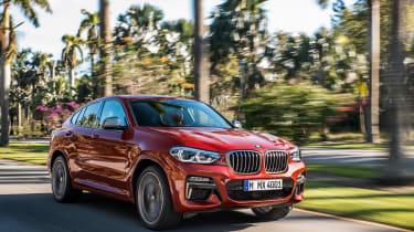 BMW X4 M40d - front quarter
