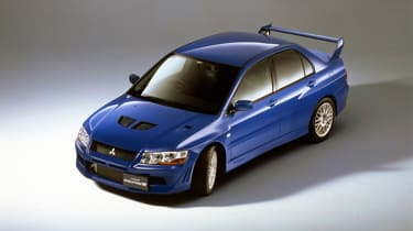 Mitsubishi Lancer Evolution VII - blue