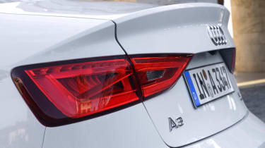 2013 Audi A3 Saloon rear bootlid spoiler