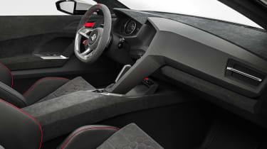 496bhp VW Golf Design Vision GTI interior