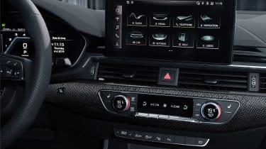 Audi S4 - dash