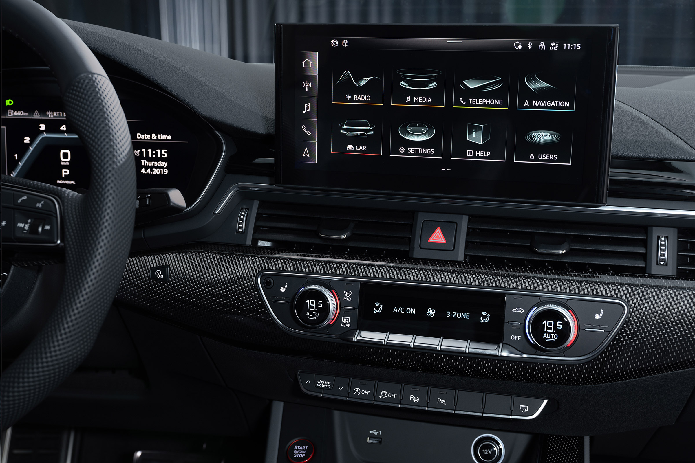 2019 Audi A4 facelift revealed, with new S4 TDi topping the