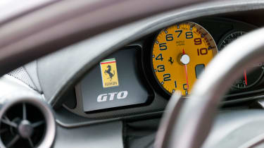 Ferrari 599 GTO dash