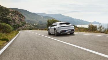 Porsche Taycan Cross Turismo - 4S rear