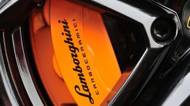 Lamborghini Aventador brake calliper