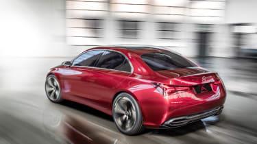 Mercedes-Benz Concept A Sedan rear action