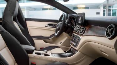 Mercedes-Benz CLA200 Shooting Brake - inteior