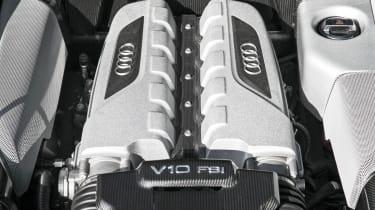 2013 Audi R8 V10 Plus engine
