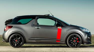 Citroen DS3 Cabrio Racing side profile