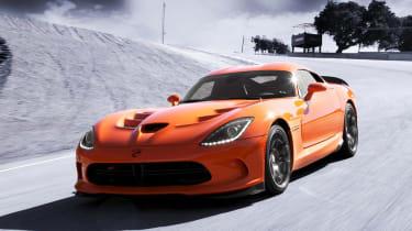 SRT Viper TA edition orange front
