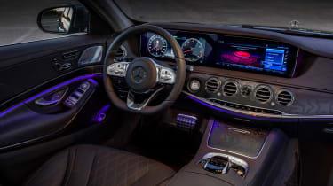 Mercedes S-class - interior