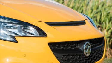 Vauxhall Corsa GSi review - grille