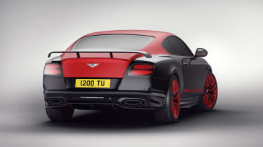 Bentley 'Continental 24' Supersport - red rear