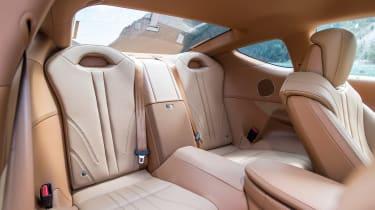 Lexus LC500h - rear seats