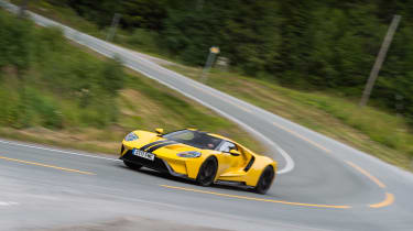 Ford GT review (AP) – cornering