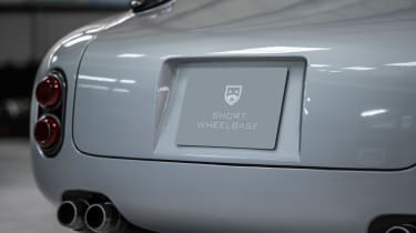 RML Short Wheelbase plate