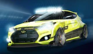 Hyundai Veloster Turbo Night Racer