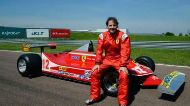 Ferrari honours Gilles Villeneuve