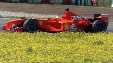 Ferrrari F1 car 1998