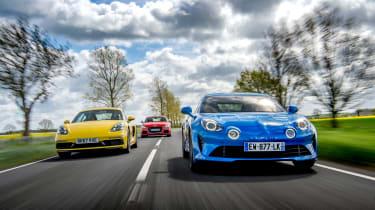 evo Supertest A110 vs rivals - tracking