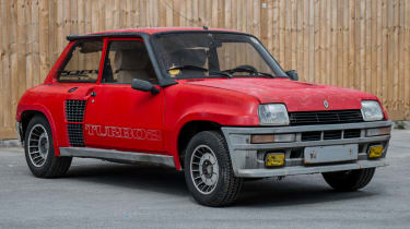 Renault 5 Turbo 2 Evolution Type 8221 – front quarter