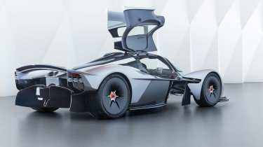 Aston Martin Valkyrie - rear three quarter