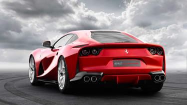 Ferrari 812 Superfast - rear three quarter