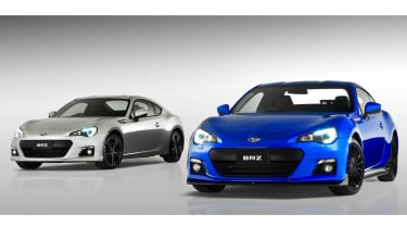 Subaru BRZ S blue and silver
