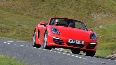 2012 Porsche Boxster 2.7 cornering