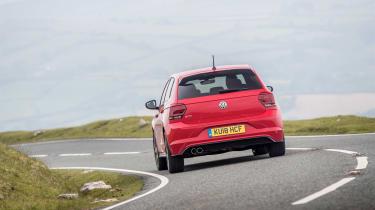 Volkswagen Polo 6 GTI - rear cornering