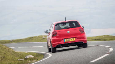 Volkswagen Polo 6 GTI - rear cornering