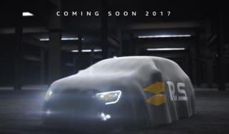 Megane RS teaser