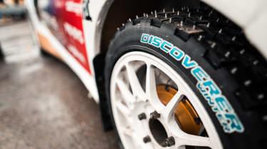 Cooper Tires studded Rallycross tyre