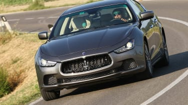 2013 Maserati Ghibli diesel front styling