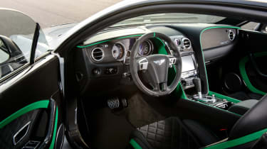 Bentley Continental GT3-R interior