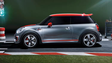 New Mini John Cooper Works Concept side profile