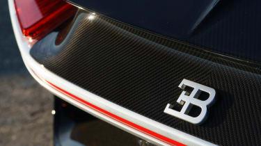 Bugatti Chiron black - ligts