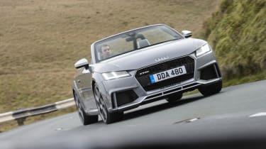 Audi TT RS Roadster – Front