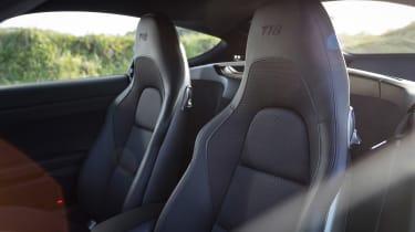Porsche 718 Cayman T review - seats