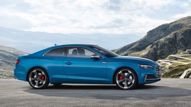 Audi S5 TDI - side